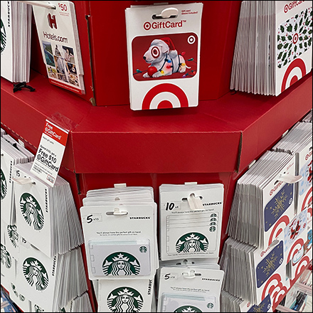 Mitered Octagon Gift Card Tower