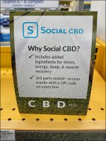 Vitamin-Shoppe Why Social CBD Tent-Sign