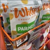 Whisps Cheese Crisps Custom Rack