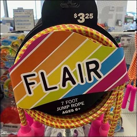 Flair Jump-Rope Spinner Display