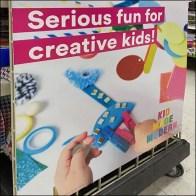 Island-Endcap Creative Kids Billboard Signs