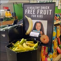 Free Fruit Healthy Snack Offer