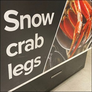 Snow-Crab-Legs Coffin-Case-Cooler Sales