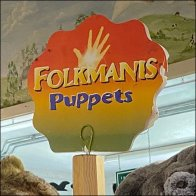 Folkmanis Hand-Puppet Coil-Clip Masthead Sign