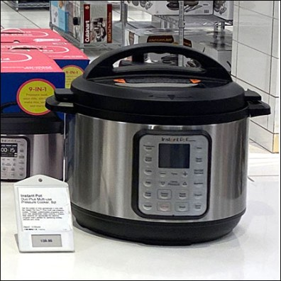 Instant Small Appliance Electronic-Price-Ticket