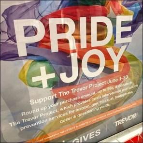 Macy's Pride-&-Joy Store-Entry Sign