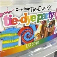 Michaels Tie-Dye-Party Inline Island Display