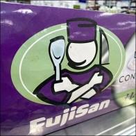FujiSan Handcrafted Sushi Cooler Sign