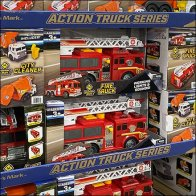 Private-Label Action Trucks Display Pallet