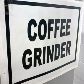 Warehouse Club Coffee-Grinder Amenity