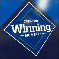 Winning-Moments Staff Recognition Board