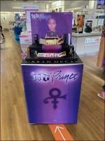 Urban-Decay Prince Cosmetics Display