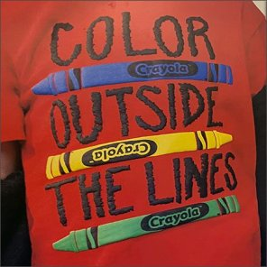 Crayola Color-Outside-The-Lines Tagline