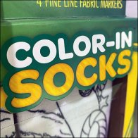 Create-Your-Style Color-In Socks