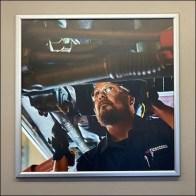 In-Store Branding Auto Mechanic Imagery