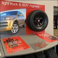 Firestone Truck And SUV Tire Display