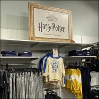 H&M Harry-Potter Children's Apparel Display