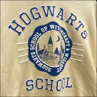 H&M Harry-Potter Hogwarts Hoodie Hang-Tag