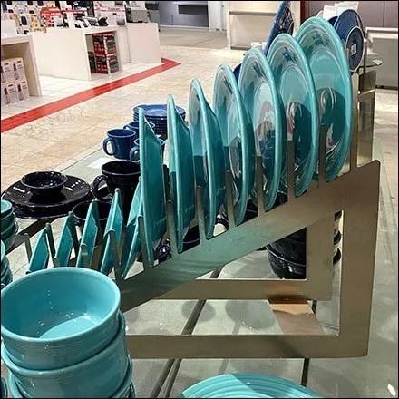 Macy's 12-Place-Setting Dish Displayer