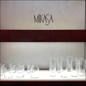 Macy's Mikasa Glassware Wall Display Square2