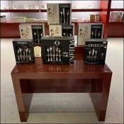 Oneida Silverware Trestle-Table Display
