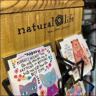 Natural-Life Quotes Table-Top Spinner