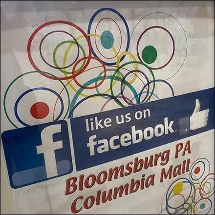 Columbia Mall Facebook-Likes Invitation