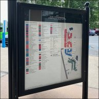 Crossings-Outlets Directory and Navigation Sign