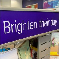 Greeting Card Spinners Brighten at FedEx