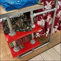 Stationary Kee-Klamp Shelf Plus HangrailStationary Kee-Klamp Shelf Plus Hangrail