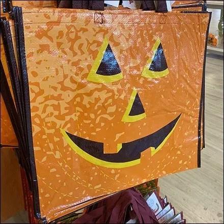 Halloween Pumpkin Shopping Carry at TJMaxx