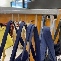 Bar-Mount Reverse J-Hook Handbags Faceouts