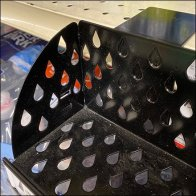 Droplet-Perforated Water-Flavorings Tray