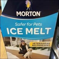 Morton Pet-Safe Ice Melt Display