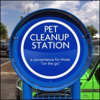 On-The-Go Outdoor Pet Cleanup Station