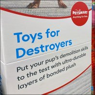 PetSmart Destroyers Toy Category Definition