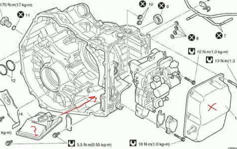 Suzuki Forenza transmission filter Questions & Answers