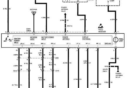 SOLVED: I need a stereo wiring diagram for 1995 chevrolet