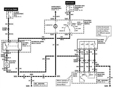 2005 Ford F150 Blower Motor Relay Location