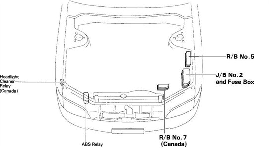 1997 Lexus Es300 Fuse Box Location : 34 Wiring Diagram
