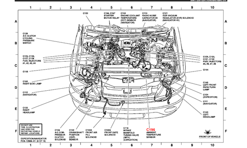ford focus temperature sensor location Questions & Answers