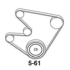 Serpentine Belt Diagram For 1992 Bmw 525i. Bmw. Auto Parts