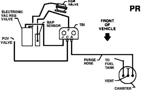 chevrolet s10 vacuum hose diagram Questions & Answers
