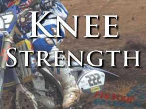 Rider Fitness: Knee Strength Training