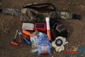 What do you have in your trail pack header