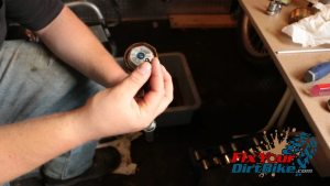 63 remove air bleeder screw