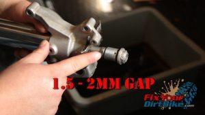 74 make sure thread gap is correct