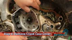 Step 5: Remove Crank Case Cover