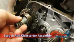 Step 8: Pull Kickstarter Assembly