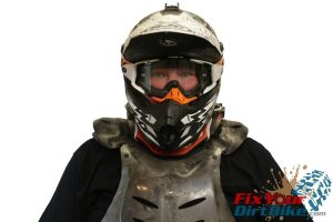 Neck Brace With Chest Protector Front